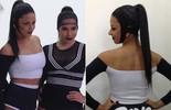 Tainá Grando conta como foi gravação do novo clipe de Anitta: 'Muito bumbum para o alto'