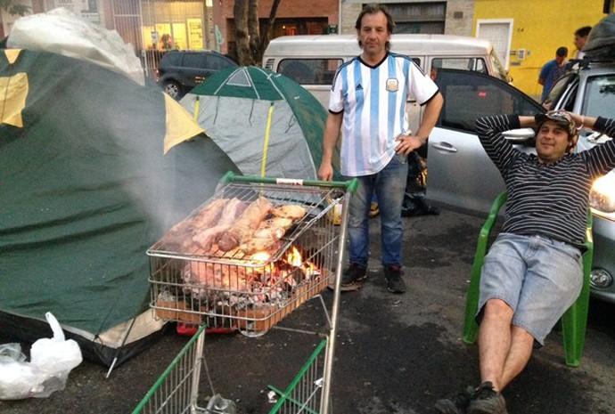 Argentinos parrila porto alegre carrinho supermercado