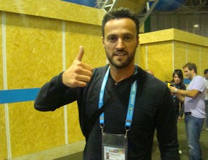 Kiko, ex-jogador do Atlético de Madrid e da seleção da Espanha (Foto: Paola Loewe/SporTV.com)