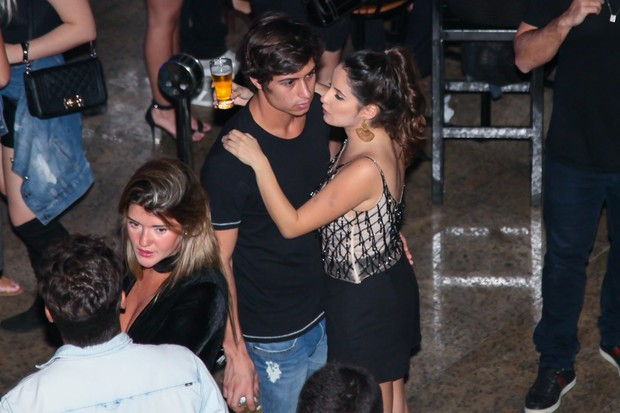 Francisco Vitti e Amanda de Godoi (Foto: Manuela Scarpa/ Brazil News)