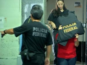 Operação 'Soberba' foi deflagrada em Mato Grosso, Minas Gerais e São Paulo. (Foto: Reprodução / TVCA)