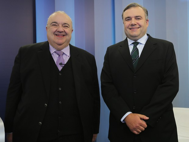 Rafael Greca (PMN) e Ney Leprevost (PSD) são candidatos à Prefeitura de Curitiba (Foto: Giuliano Gomes/PR Press)