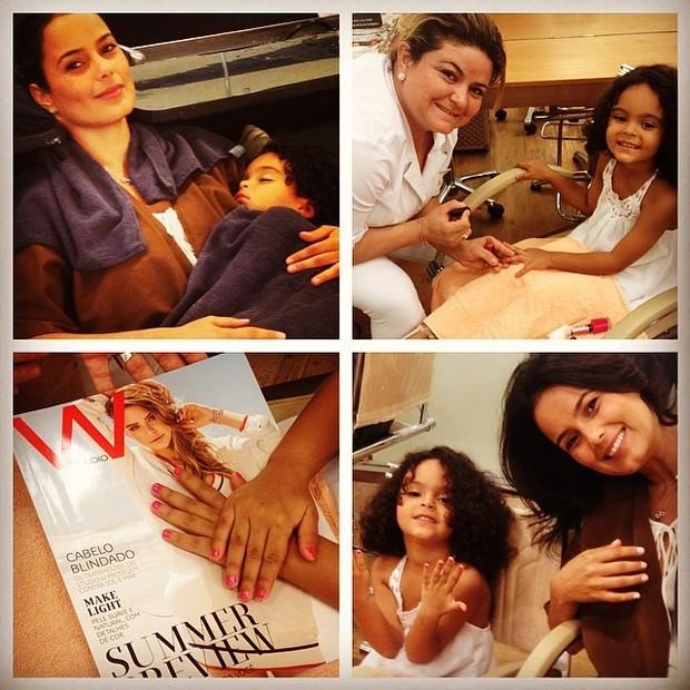 Luciele com a filha (Foto: Instagram / Reprodução)