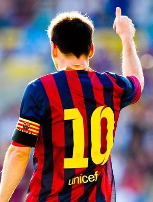 Messi jogo Barcelona contra Valerenga (Foto: AP)