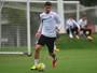"""Substituto de Lucas Lima, Vitor Bueno diz que é """"muito difícil"""" manter padrão"""