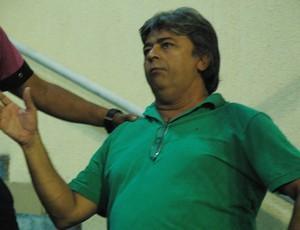 Aldeone Abrantes, presidente do Sousa (Foto: Larissa Keren / Globoesporte.com/pb)