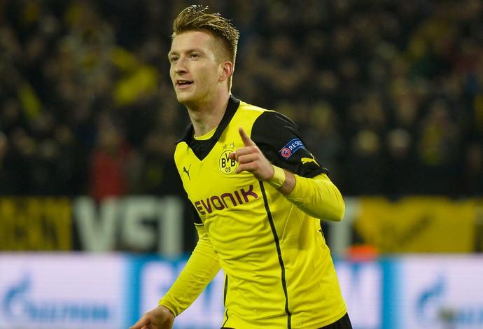 Marco Reus gol, Borussia Dortmund x Real Madrid (Foto: AFP)