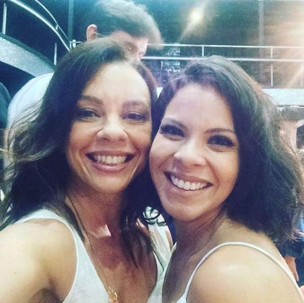 Carla Marins e Cacau Melo (Foto: Reprodução/Instagram)