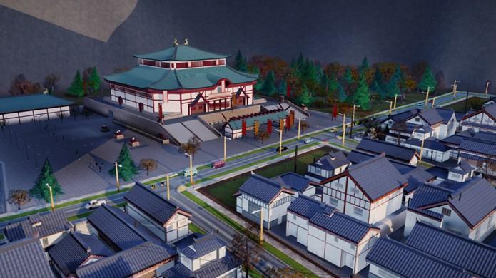 Molde seu SimCity como as tradicionais cidades japonesas com esse mod (Foto: Reprodução/Simtropolis)