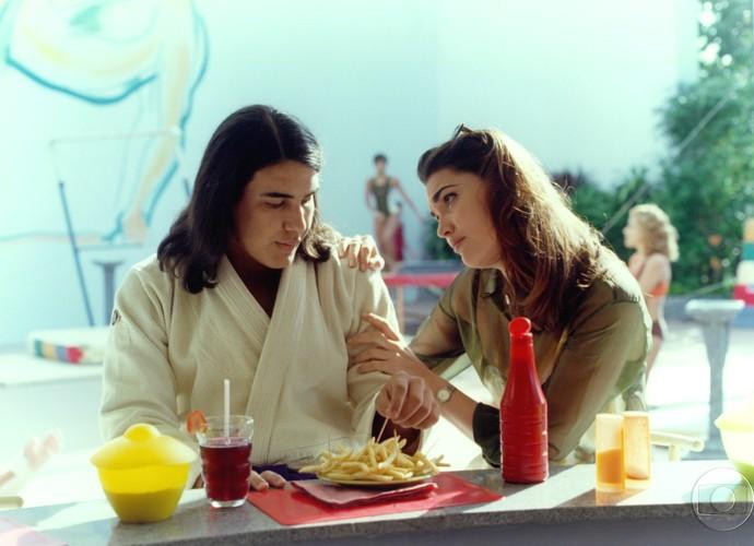 André Marques vivia Mocotó, o mulherengo de 'Malhação' em 1995 (Foto: CEDOC/TV Globo)