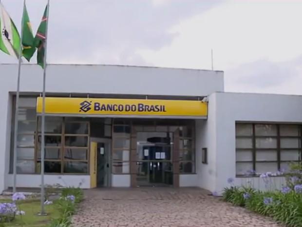Banco do Brasil em Curitiba deixou de receber dinheiro (Foto: Reprodução/RPC)
