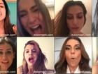 Famosas entram na febre do aplicativo Dubsmash e fazem vídeos dublados