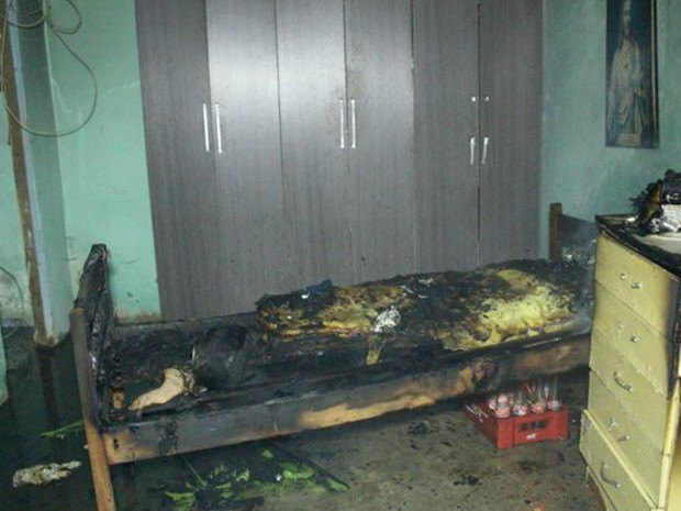 Caso ocorreu na manhã desta terça, em Medeiros Neto (Foto: Sessé Guimmas/Medeiras Dia Dia)