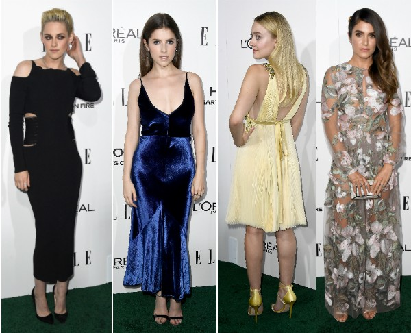 Kristen Stewart, Anna Kendrick, Dakota Fanning e Nikki Reed durante evento em Hollywood (Foto: Getty Images)