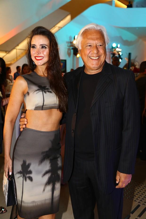 Antonio Fagundes e Alexandra Martins (Foto: Felipe Assumpção / AgNews)
