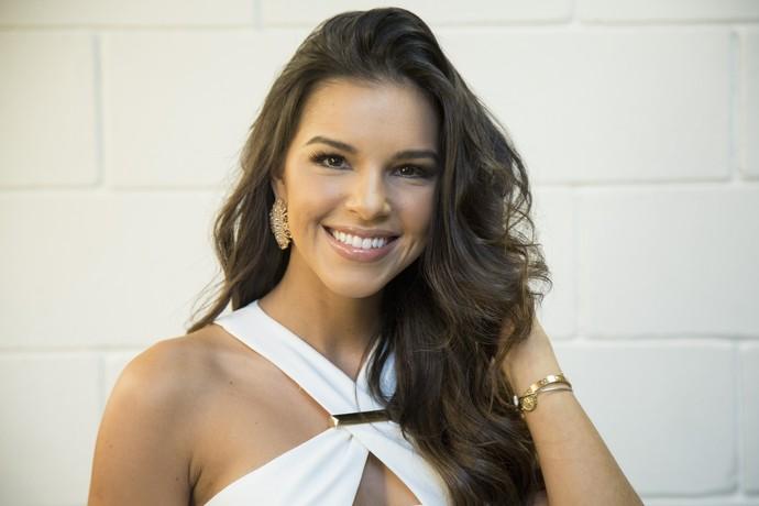 No 'The Voice Brasil', Mariana Rios momento profissional (Foto: Isabella Pinheiro/Gshow)