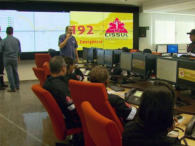 Samu já começou a operar em Varginha e região (Foto: Reprodução EPTV)