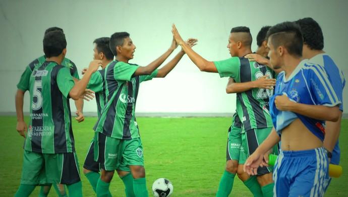 Manaus FC e Penarol Amazonense Sub-20 (Foto: Emanuel Mendes Siqueira)