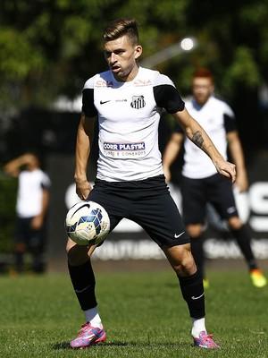 Lucas Lima Santos (Foto: Ricardo Saibun / Divulgação SantosFC)