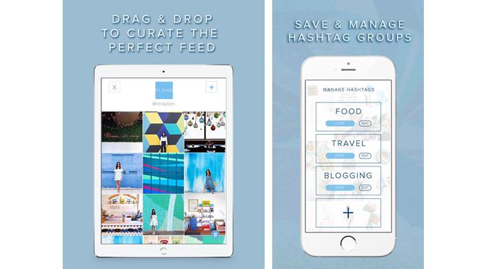 Aplicativo ajuda a planejar posts futuros no Instagram (Foto: Reprodução/Plann)