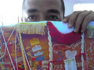 O artista plástico Junior Lopes ensinará uma maneira inusitada de produzir retratos em oficina em Piracicaba (Foto: Divulgação/Salão de Humor)