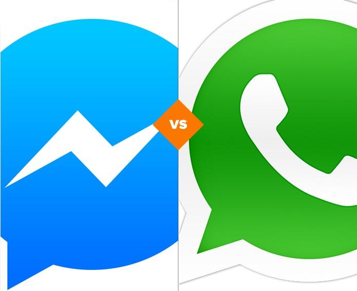 Whatsapp e Messenger para pc (Foto: Arte/TechTudo)