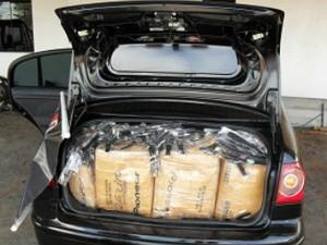 4d2e4efe4fa Polícia apreende carro com mais de cinco mil relógios contrabandeados