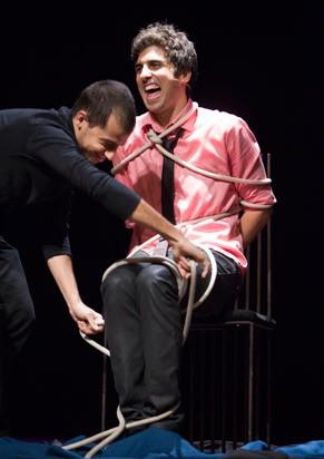 Leandro Hassum ajudou o ator a criar o espetáculo (Foto: Divulgação)