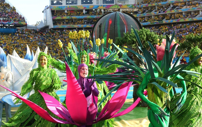 Fotos da Abertura da Copa 2014 Abertura Copa do Mundo Foto