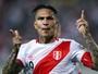 Com hematoma no olho, Guerrero  está liberado para enfrentar o Chile
