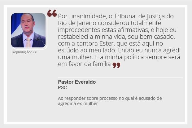 Pastor Everaldo - debate - 2 (Foto: Reprodução)