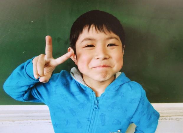 Yamato Tanooka em foto cedida pela escola Hamawake (Foto: Hamawake Elementary School/Kyodo News/AP)
