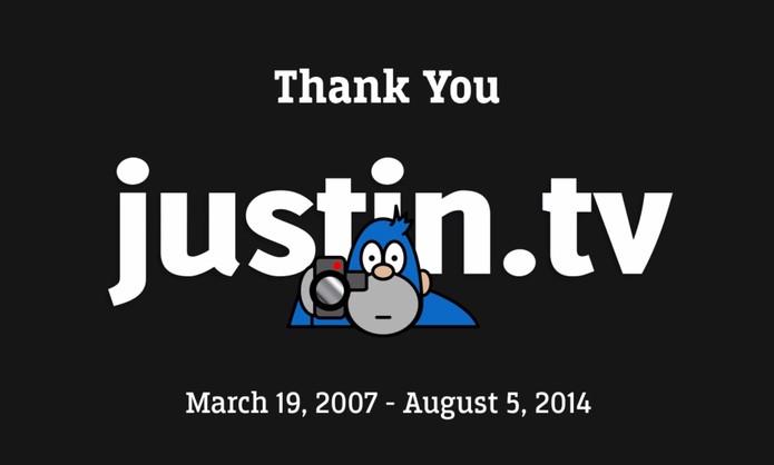 Justin.TV será encerrrada (Foto: Reprodução/YouTube)