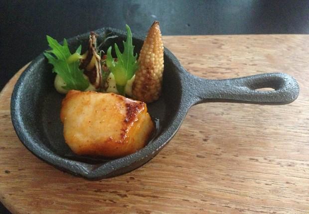 Um dos pratos servidos no restaurante peruano Maido, eleito o melhor da América Latina (Foto: Reprodução/Facebook)