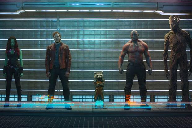 Guardiões da Galáxia (Foto: Divulgação)