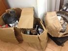 Moto roubada é achada em caixas de papelão, em Guajará-Mirim, RO