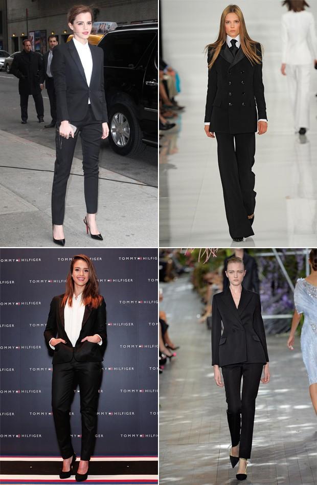 Emma Watson, desfile Ralph Lauren, Jessica Alba e desfile Dior. (Foto: Getty Images)