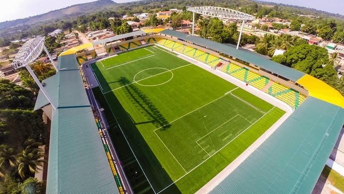 Arena Xingu, em Vitória do Xingu (Foto: Ascom/Prefeitura de Vitória do Xingu)