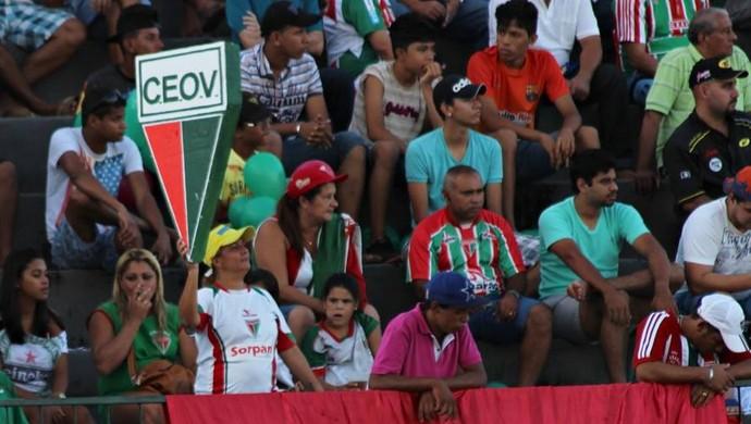 Torcida do CEOV Operário (Foto: Assessoria/CEOV)