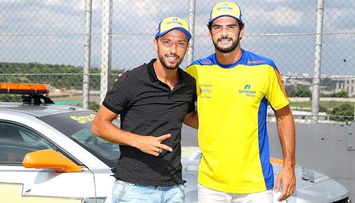 Thiago Camilo e Nenê