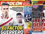 """Imprensa peruana aposta em """"fator Guerrero"""" para bater a Colômbia"""