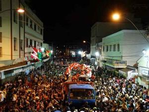 Bloco do Barril Carnaval 2014 São João Nepomuceno (Foto: Márcio Sabones/Portal SJ Online)