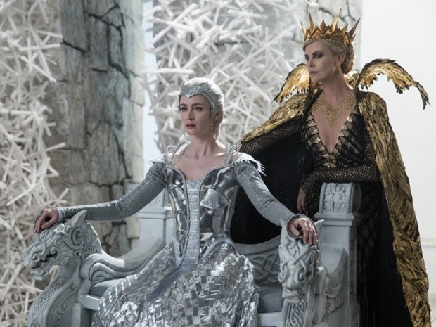Cena de 'O Caçador e a Rainha do Gelo' (Foto: Reprodução)