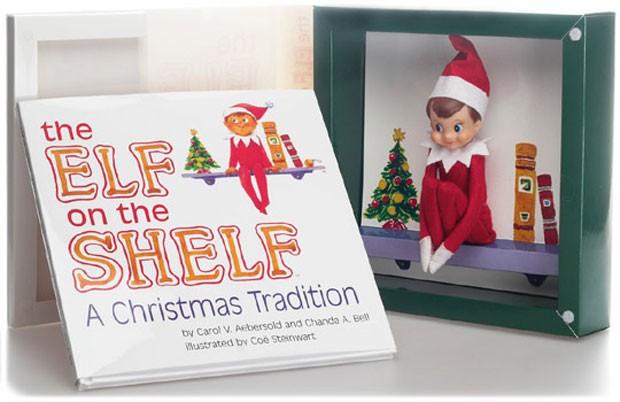 Elf on the shelf (Foto: Reprodução/ Família Muda Tudo)