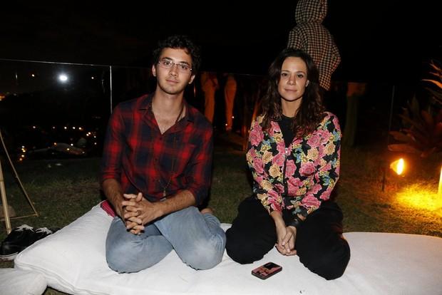 Gabriel Falcão e Vanessa Gerbelli (Foto: Felipe Panfili / AgNews)