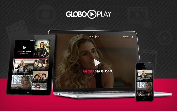 Globo Play funciona em diferentes tipos de tela (Foto: Divulgação/Globo Play/G1)