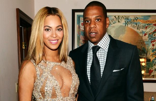 Casal mais poderoso da música pop atualmente, turnê conjunta, uma filhinha linda, mais de uma década fazendo músicas sobre o amor e o desejo que nutrem um pelo outro. Alguma dúvida a respeito dos sentimentos de Jay-Z por Beyoncé? (Foto: Getty Images)