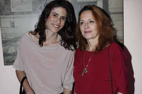 Maria Zilda e a arquiteta Ana Kalil (Foto: Marcos Ramos)