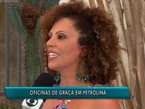 Inscrições abertas para atividades produção artística em Petrolina (Foto: Reprodução/ TV Grande Rio)