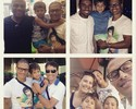 Encontro de craques: Alex, Bebeto, Kleberson e Ronaldão em Miami